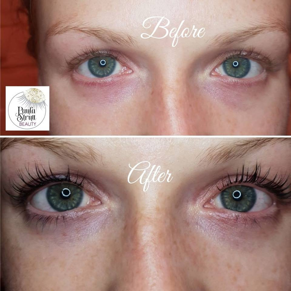 epic lash lift and tint